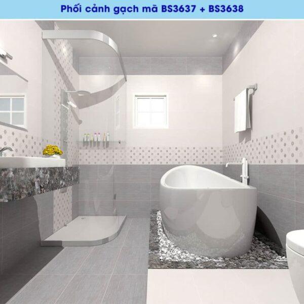 phoi canh gach men op tuong viglacera BS3637-38 kho 30x60