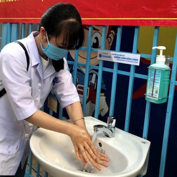 chau rua mat lavabo treo tuong viglacera vtl2 chinh hang