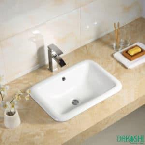 chau rua mat lavabo am ban dakoshi jpan db23