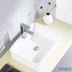 chau rua mat lavabo dat ban dakoshi jpan db12