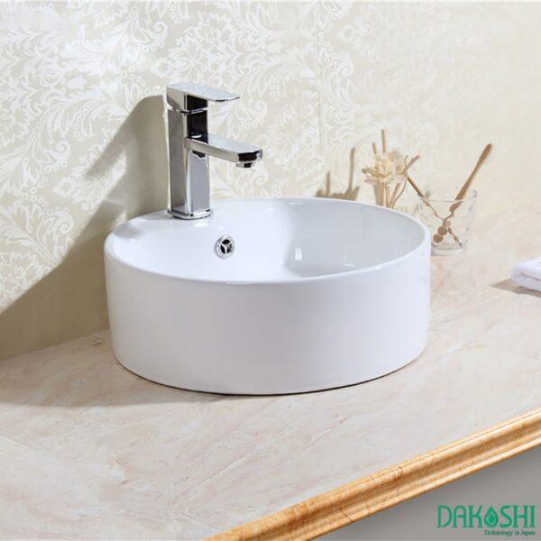 chau rua mat lavabo dat ban dakoshi jpan db15-5