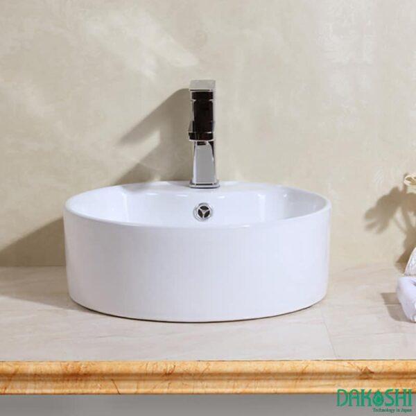 chau rua mat lavabo dat ban dakoshi jpan db15-6