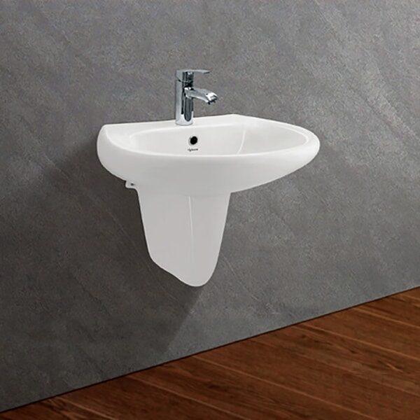 chau rua mat lavabo treo tuong viglacera vtl2-bs503