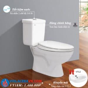 bon cau roi 2 khoi viglacera vt18m chinh hang tang chau rua lavabo vtl2