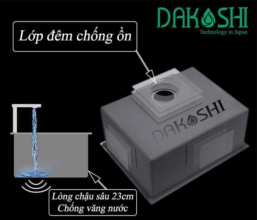 chính sách bảo hành Dakoshi
